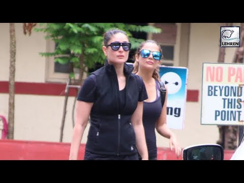 Kareena Kapoor Khan Hits The Gym After Returning From Family Vacation | LehrenTV
