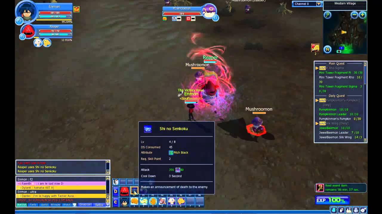 Demidevimon Evolution Line Digimon Masters Online...