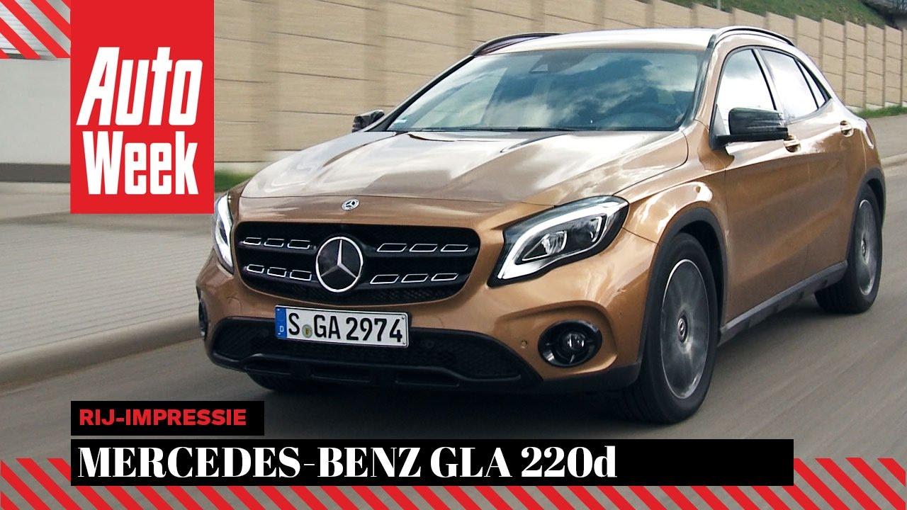 Mercedes Benz Gla Autoweek Review English Subtitles Youtube
