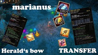 Drakensang Online [ Transfer Arrows ] - Herald's Bow - PONK - marianus