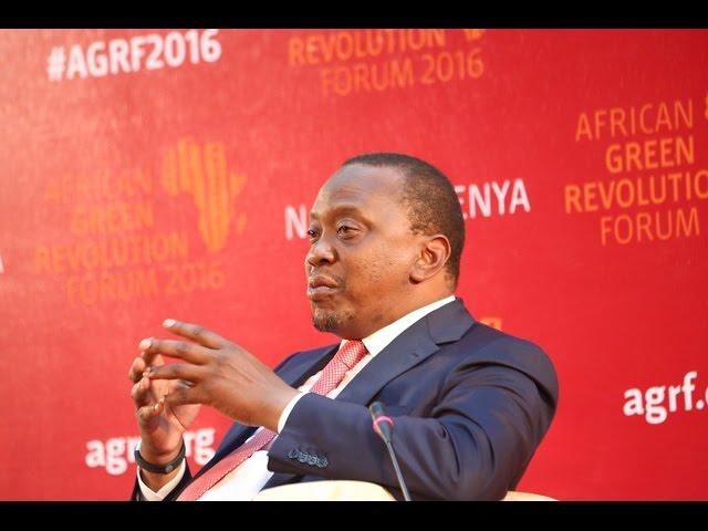 AGRF 2016 Panel - H.E. President Uhuru Kenyatta, President of The Republic of Kenya