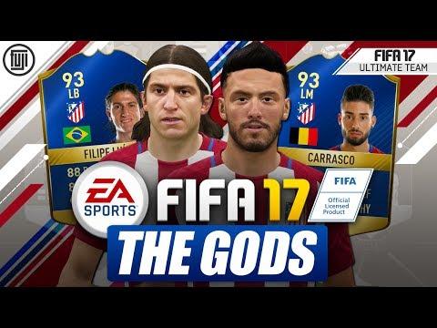 FIFA 17 – ATLETICO MADRID GODS! TOTS CARRASCO & TOTS FILIPE LUIS! – FIFA 17 Ultimate Team
