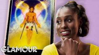 Issa Rae Gets Her Future Told by an Astrologer, a Tarot Reader and a Psychic | Glamour