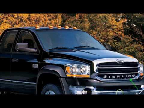 2007-2009 Sterling Bullet Medium-Duty Pickup Truck - YouTube