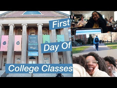 UNC Chapel Hill COLLEGE WEEK IN MY LIFE 2019