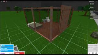 Roblox velocidade construir prisão Cell