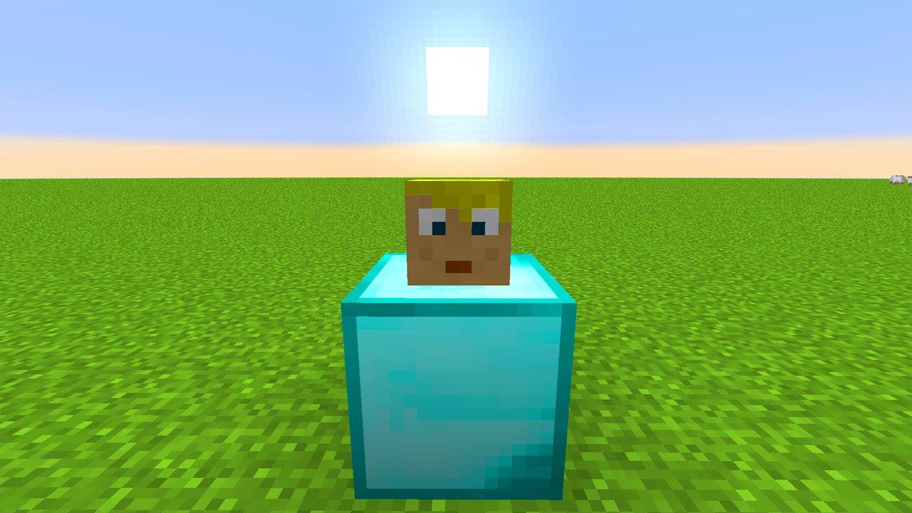 Minecraft Köpfe Als Dekoration YouTube - Minecraft spielerkopfe liste