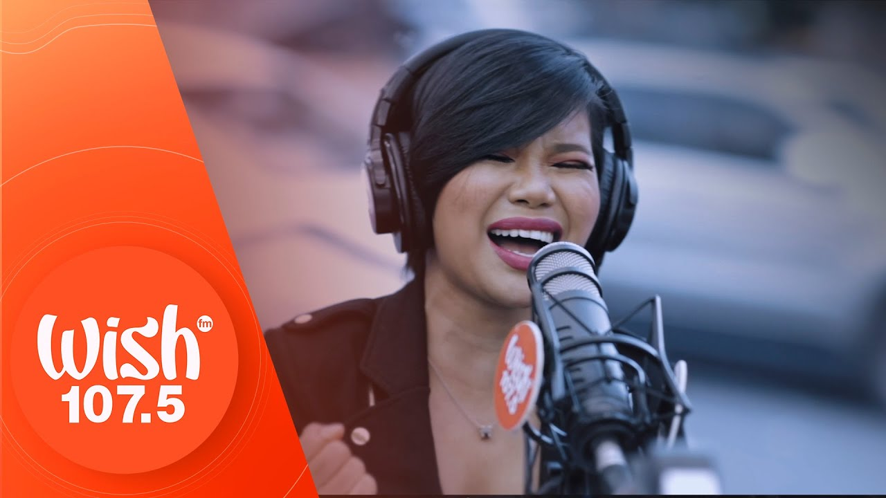 "Katrina Velarde performs ""Mahal Pa Kita"" LIVE on Wish 107.5 Bus"