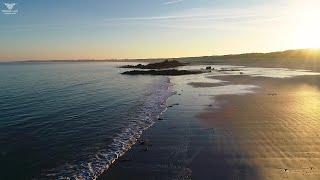Lumières hivernales - Finistère, côté nord.