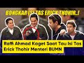 Bongkar Isi Tas Erick Thohir, Raffi Ahmad Kaget Lihat Jumlah Uang Pak Menteri BUMN!