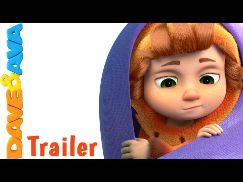 ☀️ Are You Sleeping Brother John - Trailer | Nursery Rhymes and Baby Songs from Dave and Ava ☀️
