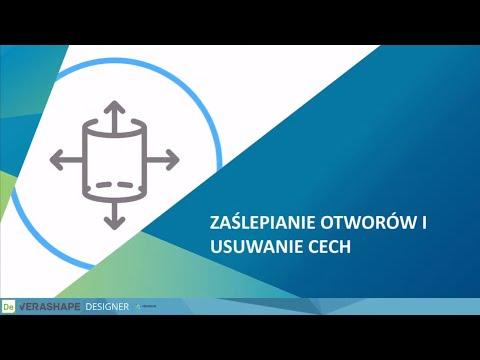 DESIGNER | System CAD – Zaślepianie otworów, usuwanie cech, uchwyty i półfabrykaty - webinar cz.3