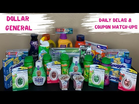 DOLLAR GENERAL DAILY DEALS YOU CAN DO NOW  & COUPON MATCH UP  || BUDGET BOSS COUPONS