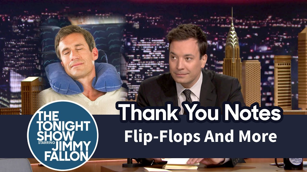 Thank You Notes: Flip Flops, Cookie Dough   YouTube