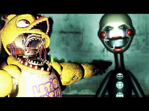 CHASED BY HUGE ANIMATRONICS! | OverNight 2 (Free Roam FNAF) #1