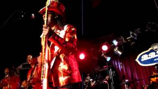 Bootsy Collins, Bootzilla/Roto-Rooter, BB King Blues Club, NYC 6-13-12