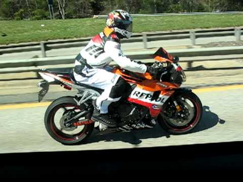 2008 Cbr600rr With Repsol Racing Fairings Youtube
