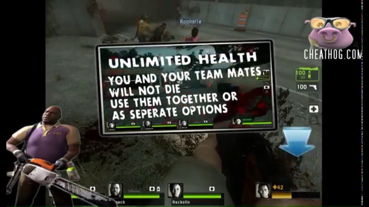 LEFT 4 DEAD 2 Trainer from CHEATHOG COM