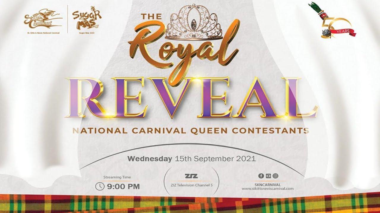 Download The Royal Reveal of the National Carnival Queen Contestants | SugarMas50 - September 15, 2021