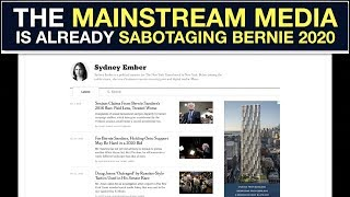 THE NEW YORK TIMES EXPOSED FOR SABOTAGING BERNIE SANDERS 2020 Written and edited by Brian J. Hanley #Bernie #BernieSanders #Bernie2020., From YouTubeVideos