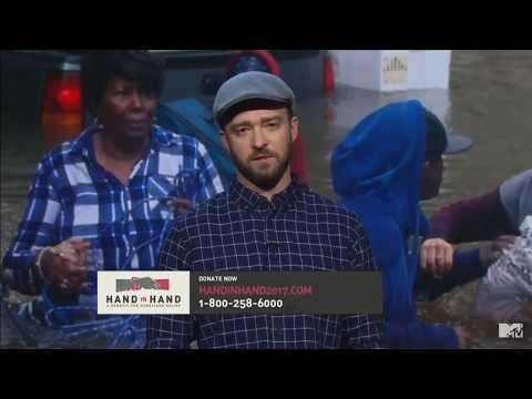 "Justin Timberlake - ""Hand In Hand"" A Benefit For Hurricane Relief 