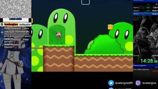 Secret Maryo Chronicles, playing/building levels/running for sub 24(?) (6)