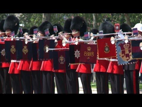 British soldiers break fanfare trumpet record