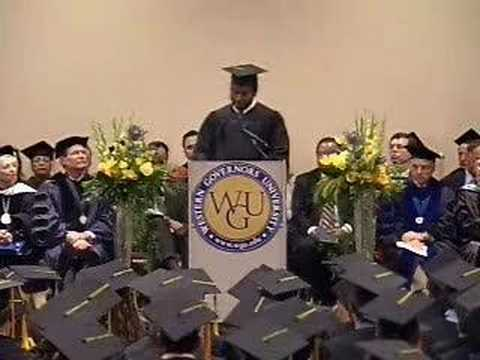 WGU February 2008 Graduation - Wilfrid Ky - Online IT Degree