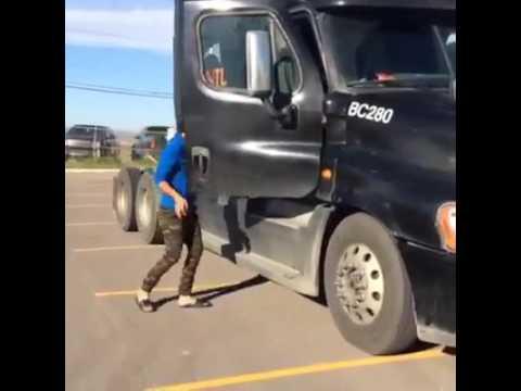Ranjit bawa fun with truck