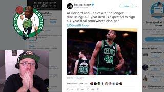 Al Horford Leaving The Boston Celtics! Which NBA Team Should Sign Him?