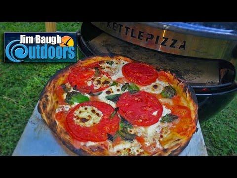 1 kettlepizza 101 baking steel 90 sec neapolitan pizza jim baugh outdoors tv video review how. Black Bedroom Furniture Sets. Home Design Ideas