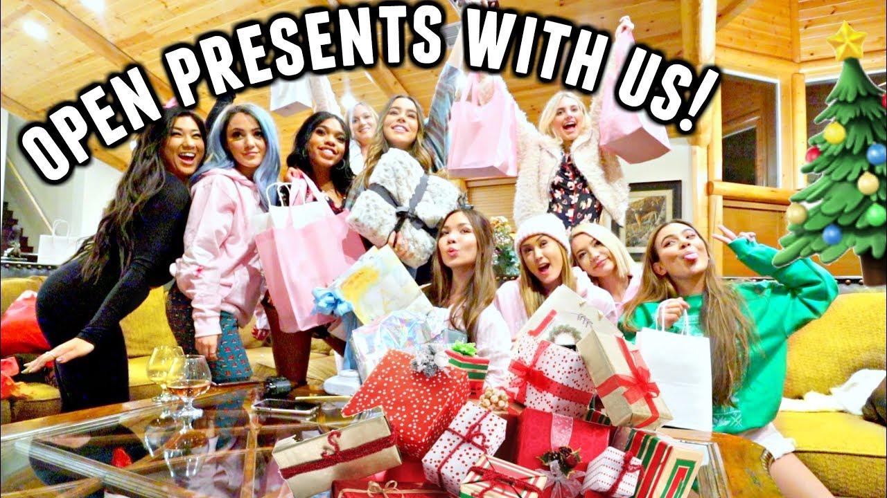 OPENING SECRET SANTA GIFTS!🎁 Early Christmas Presents! | Vlogmas ...