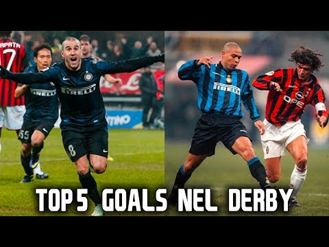 TOP 5 GOALS NEL DERBY DELL' INTER