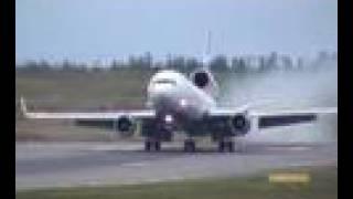 Ryan spotting Finnair MD11 landing at Helsinki Vantaa. It was awesome (2006)