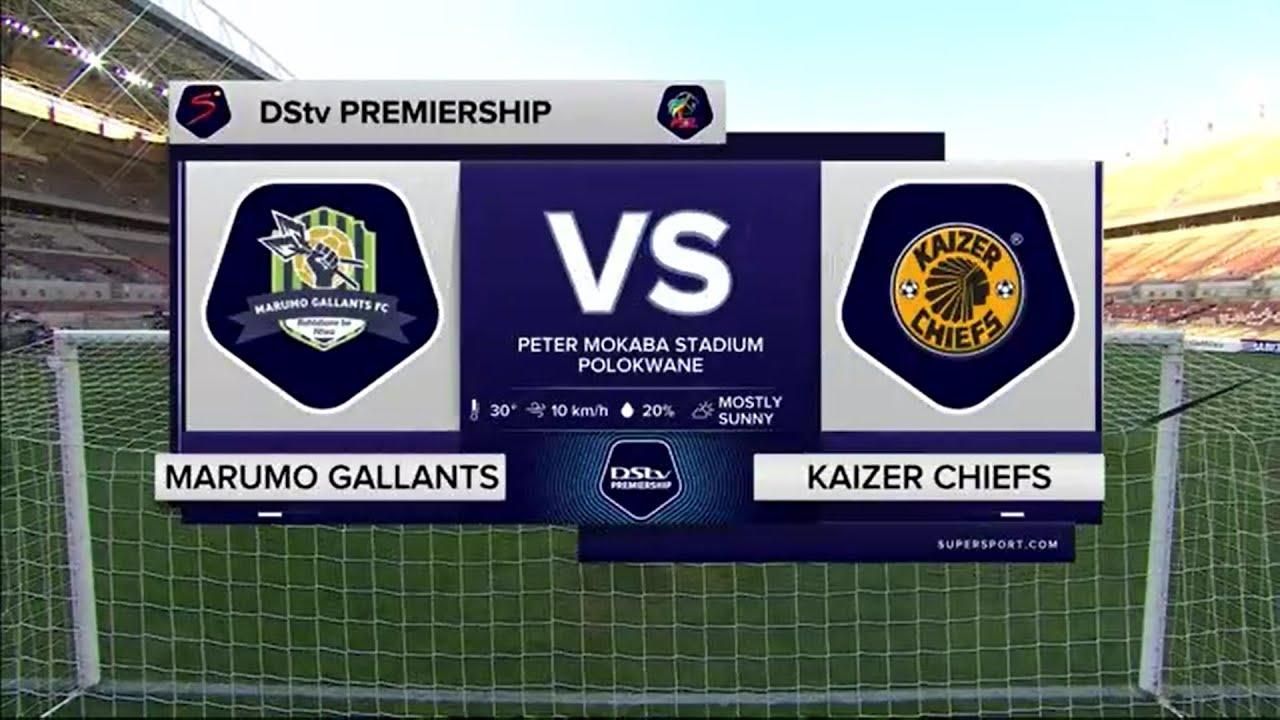 Download DStv Premiership    Marumo Gallants v Kaizer Chiefs   Highlights