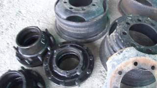 Расточка колесного диска ЗИЛ под евро ступицу(Компания Авто- Крафт специализируется на реставрации автотракторных деталей, комбайнов, экскаваторов...., 2014-04-21T18:07:36.000Z)