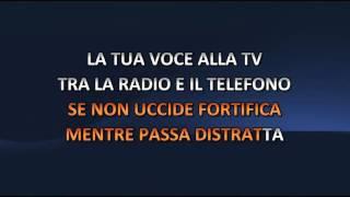 Tiziano Ferro - Sere Nere (Video karaoke)