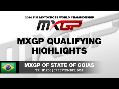 MXGP of State of Goias 2014 MXGP Qualifying Highlights - Motocross