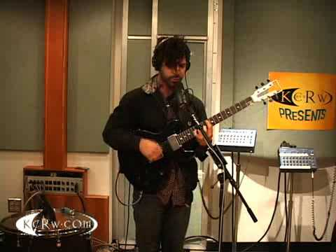 "Foals performing ""Total Life Forever"" on KCRW"