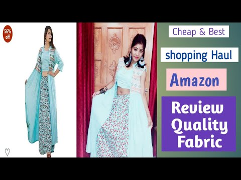 Amazon shopping Review|| Top/skirt with sherg|| Shopping Haul|| Cheapest Rate #Life Kick By RT Negi