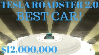 BUYING THE TESLA ROADSTER 2.0 | BEST CAR EVER! | $12,000,000 | Roblox Vehicle Simulator #11