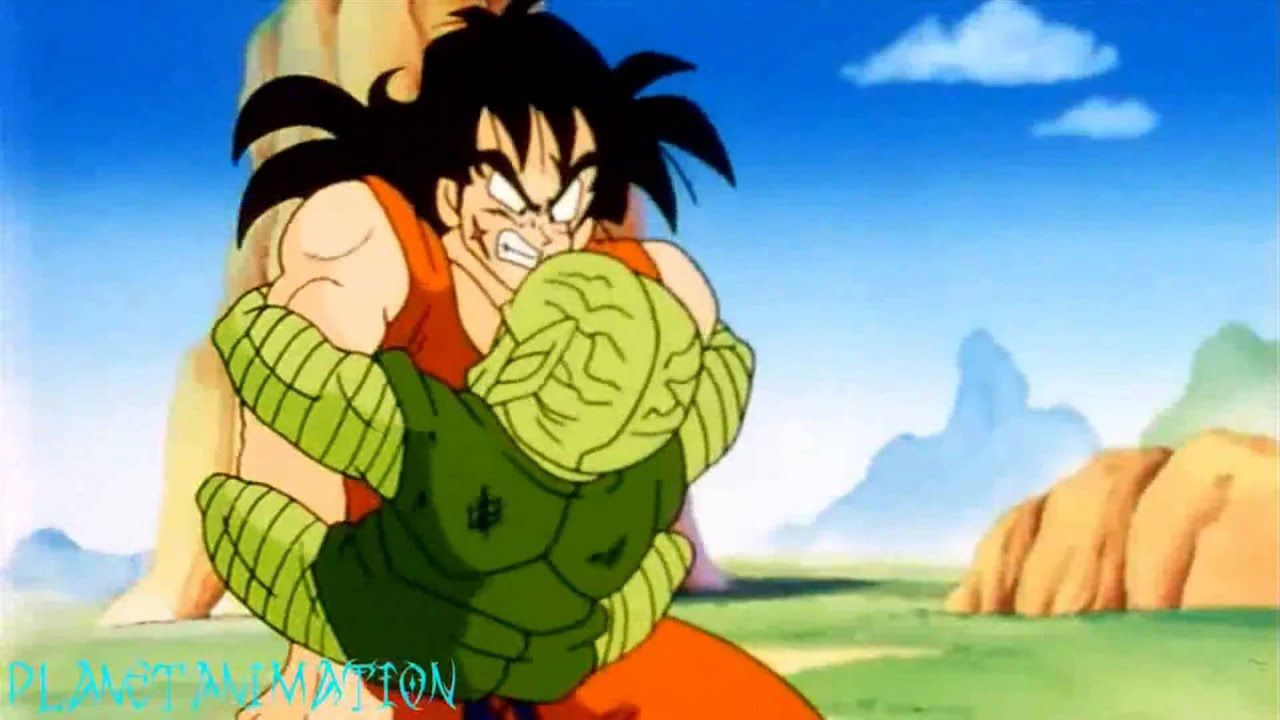 Dragonball Z Saibamen Kills Yamcha Remastered Hd Youtube