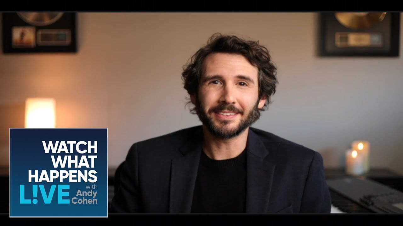 Josh Groban is 'All For' the #FreeBritney Movement   WWHL