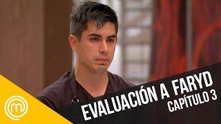 Faryd es evaluado   MasterChef Chile 3   Capítulo 3