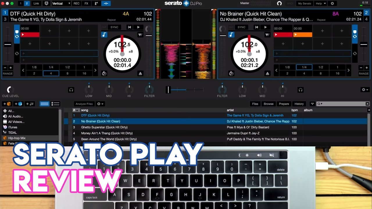 how to use serato dj pro