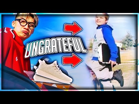 Thumbnail: Giving Out Free Shoes But UNGRATEFUL KID ROAST ME