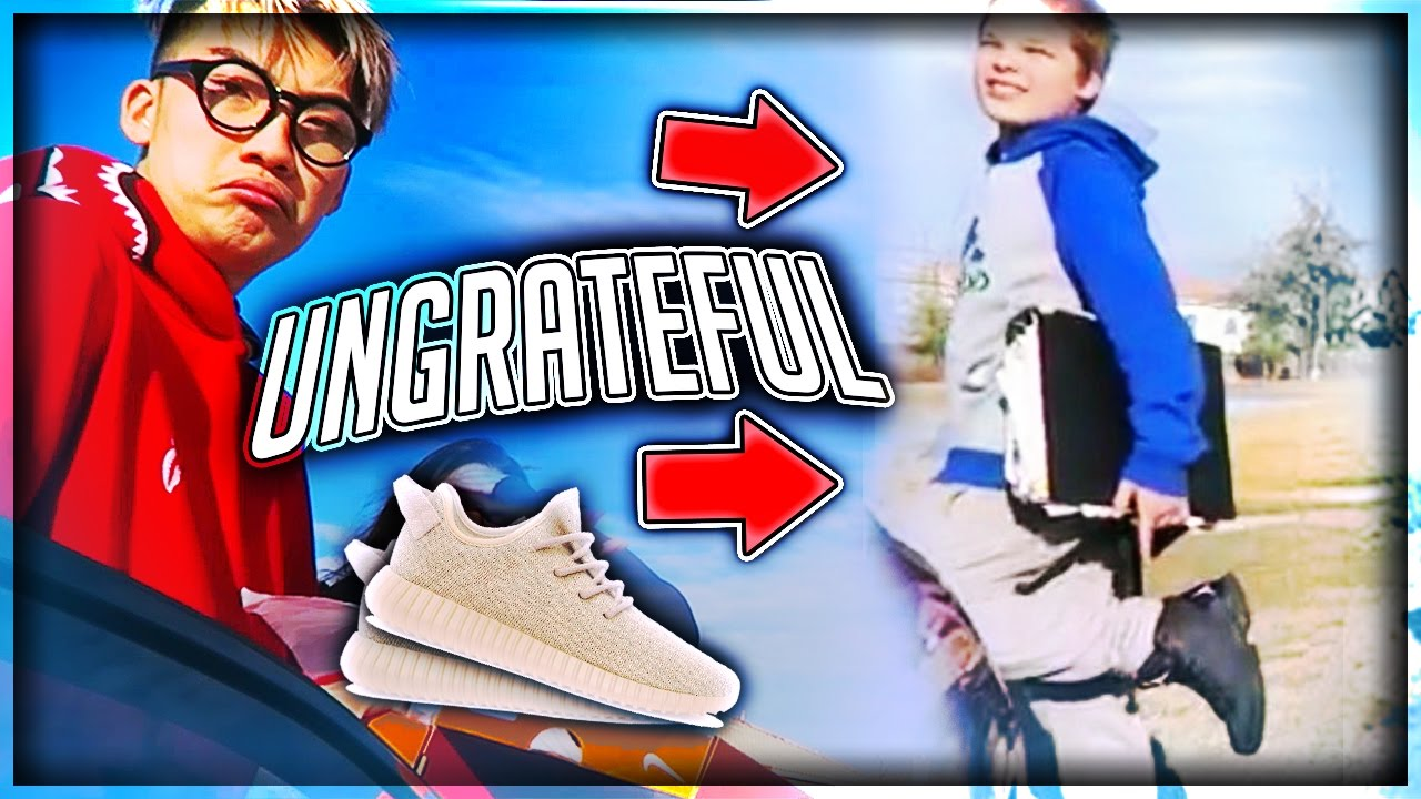 Giving Out Free Shoes But UNGRATEFUL KID ROAST ME