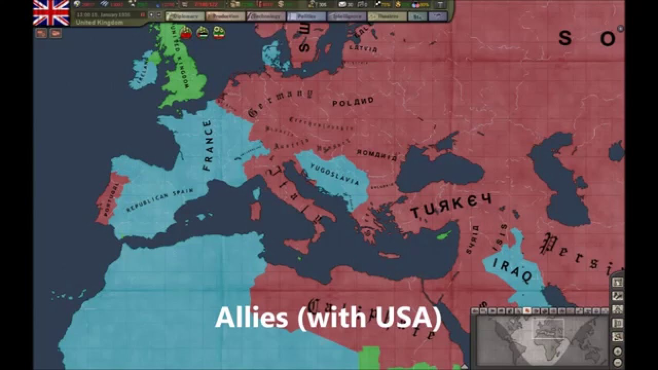 hearts of iron 4 how to call allies in