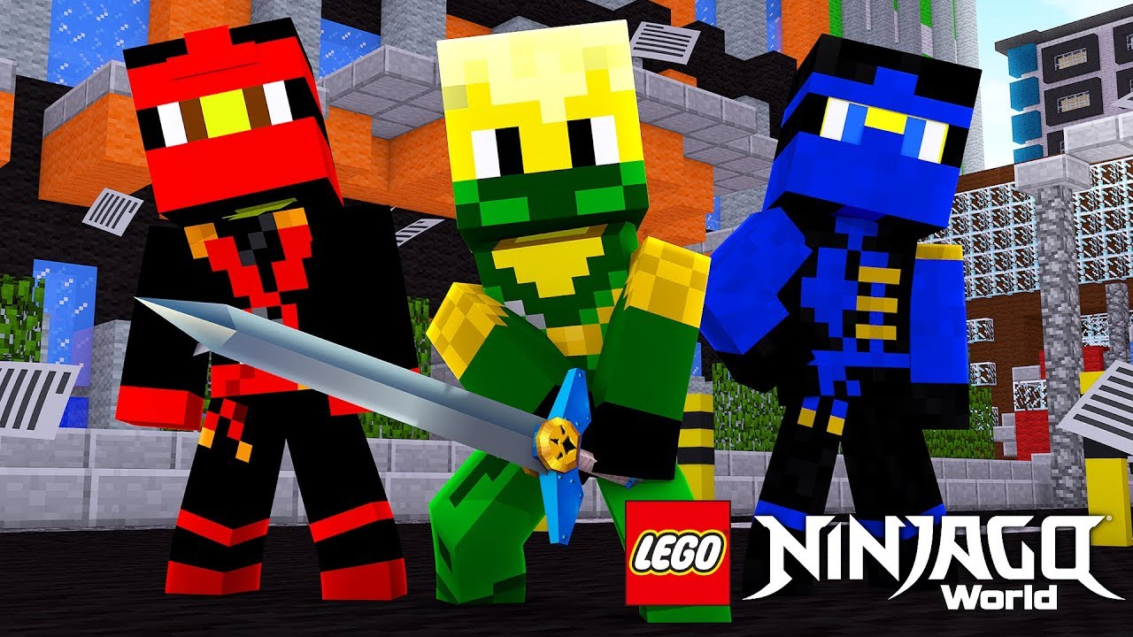 Download THE BEGINNING OF THE LEGO NINJAGO WARRIORS IN MINECRAFT! w/ Little Lizard