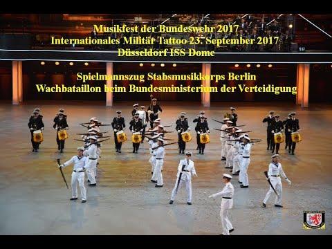 2017 0923 Musikfest der Bundeswehr   V10   Spielmannszug und Wachbataillon